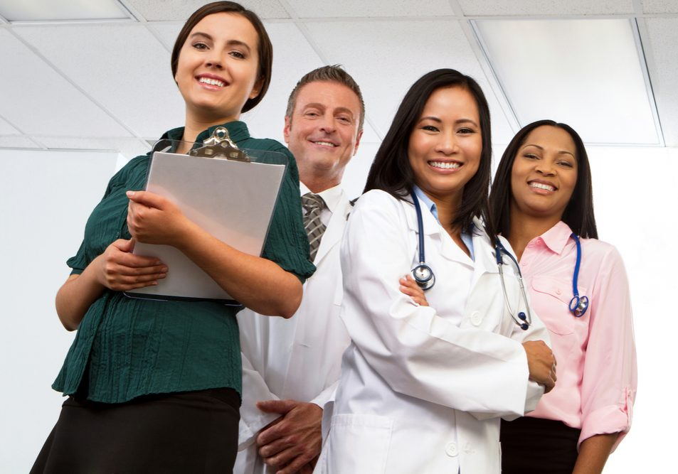 Multi,Ethnic,Group,Of,Healthcare,Professionals