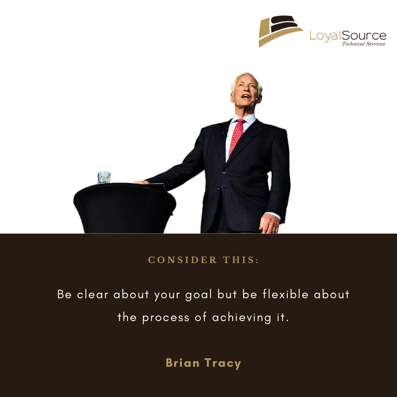 Be clear about your goals
