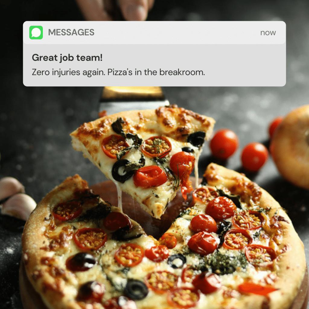 Employee Pizza Friday
