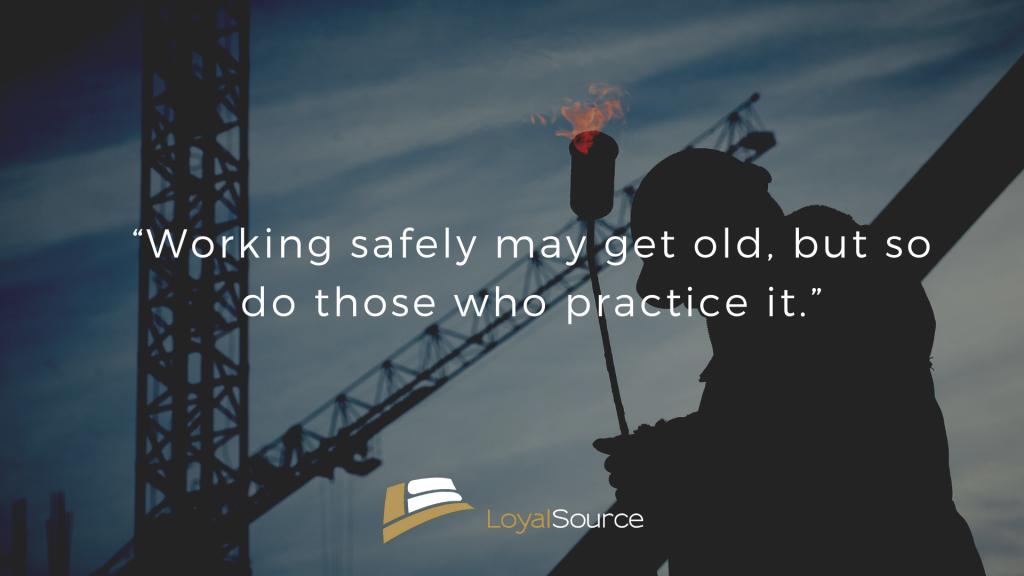 Working Safely Quote