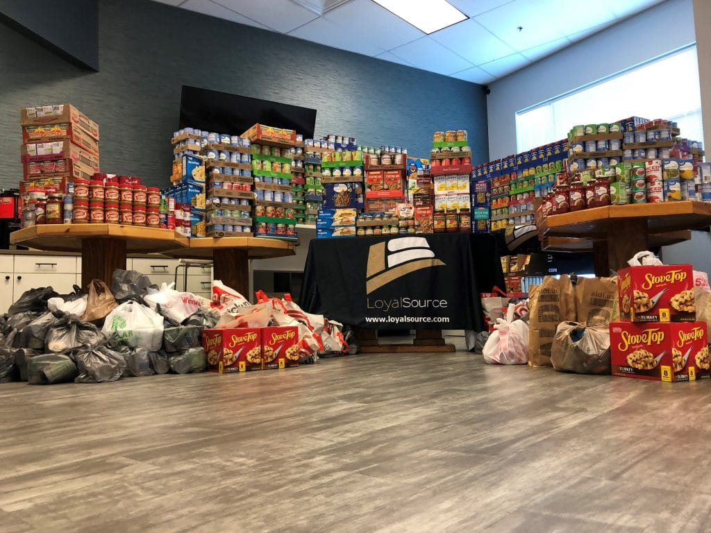 Loyal Source Thanksgiving Food Drive